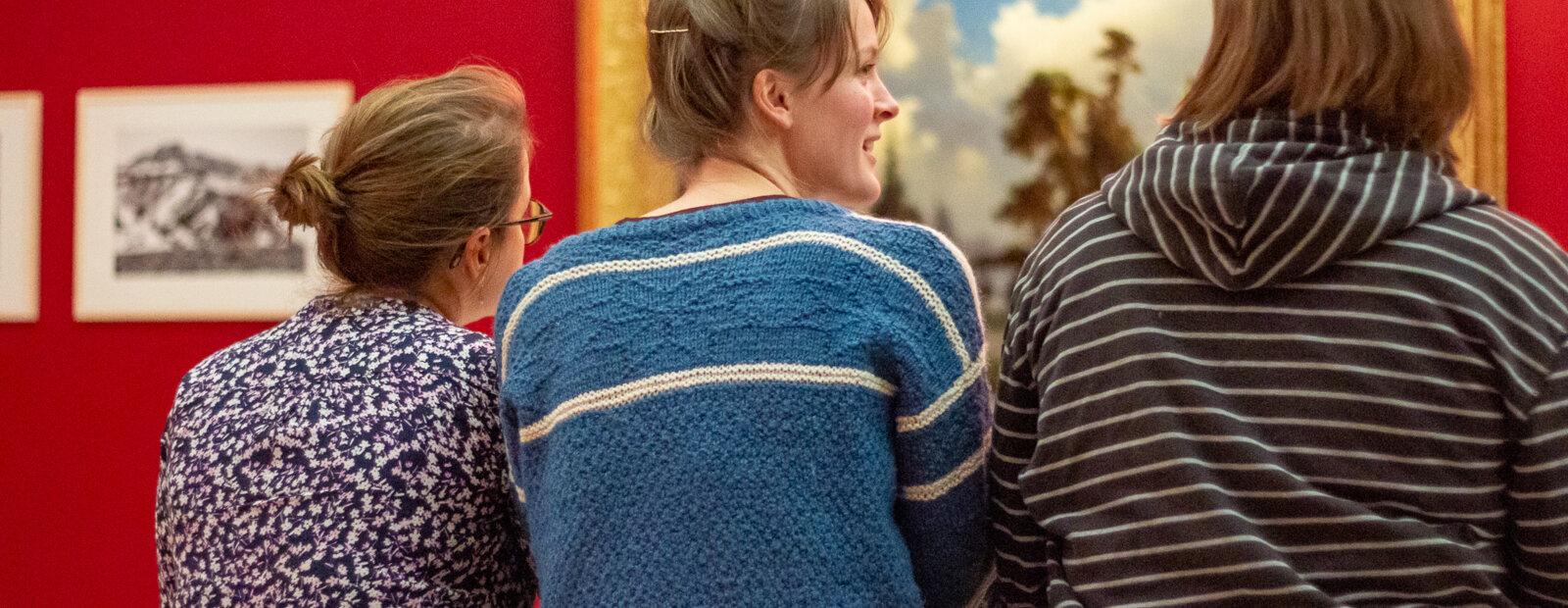 Publikum i utstilling